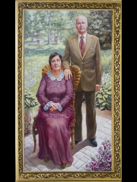 дедушка с бабушкой