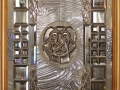дверь Лев